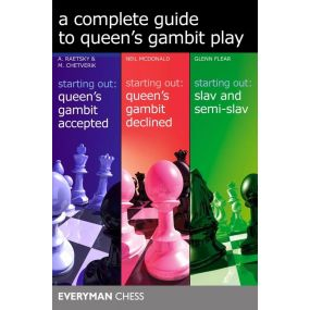 A Complete Guide to Queen's Gambit Play - A. Raetsky, M. Chetverik, N. McDonald, G. Flear (K-5414)