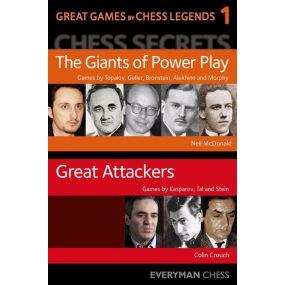 Great Games by Chess Legends, część 1 - Neil McDonald, Colin Crouch (K-5417)