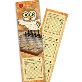 Zakładka do książki z zadaniami szachowymi cz. 1 (A-112)