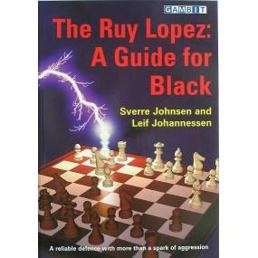"""Johnsen S., Johannessen L. """" Partia Hiszpańska : przewodnik dla czarnych"""" ( K-3219/hiszp)"""