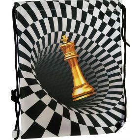 Worek na ramię z motywem szachowym (A-117)