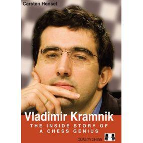 Carsten Hensel - Vladimir Kramnik - The Inside Story of a Chess Genius (twarda oprawa)  (K-5559)