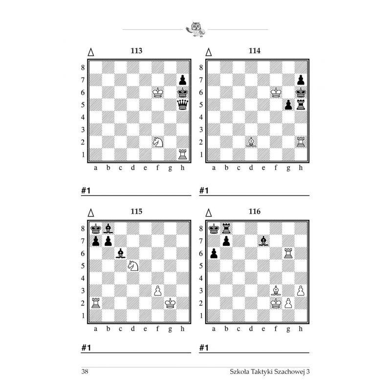 """gm J. Zezulkin, """"Szkoła Taktyki Szachowej 3. Motywy kombinacyjne """" (K-3685/3)"""