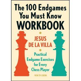 Jesus De la Villa -The 100 Endgames You Must Know Workbook (K-5617)