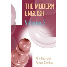 Kiril Georgiev, Semko Semkov - The Modern English Volume 2: 1.c4 c5, 1...Nf6, 1...e6 ( K-5563/2 )
