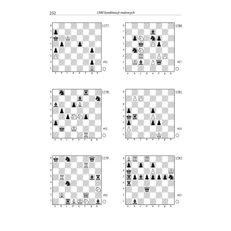 1300 kombinacji matowych R.Czajkowski, A.Nowicki (K-5648)