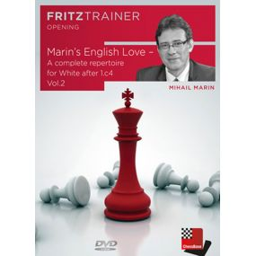Mihail Marin - Marin's English Love - A complete repertoire for White after 1.c4  Część 2 (P-0056)