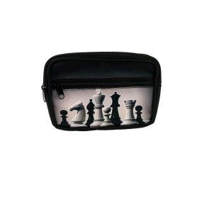 Saszetka nerka na pas z motywem szachowym (A-121)