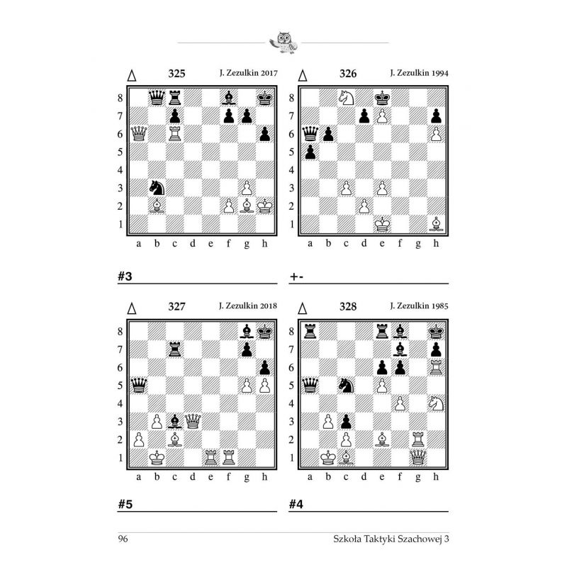 """20x gm J. Zezulkin, """"Szkoła Taktyki Szachowej 3. Motywy kombinacyjne """" (K-3685/3/20)"""