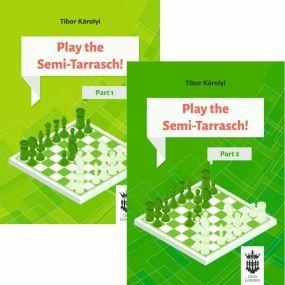 Play the Semi-Tarrasch! Część 1 i 2 - Tibor Károlyi (K-5431-2/kpl)