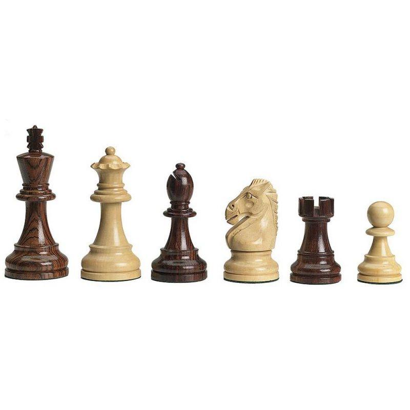 Figury szachowe DGT Royal do desek elektronicznych - Rzeźbione Drewniane (S-213)