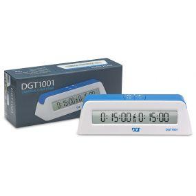 DGT 1001 biały - Elektroniczny zegar szachowy dla szkół i klubów ( ZS-20/b )