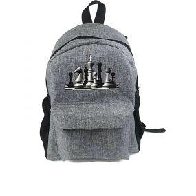 Plecak z motywem szachowym (A-129)