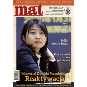 "Czasopismo szachowe ""Mat"" nr 5/ 2019 (85) (C-017)"