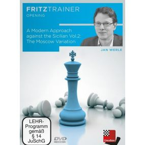 Jan Werle: A Modern Approach against the Sicilian Vol.2: The Moscow Variation: FritzTrainer Opening (P-0073)
