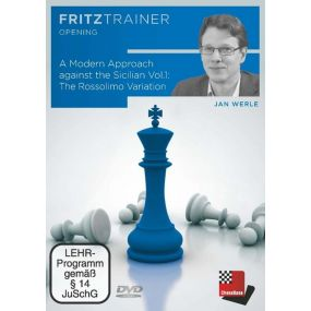 Jan Werle: A Modern Approach against the Sicilian Vol.1: The Moscow Variation: FritzTrainer Opening (P-0074)