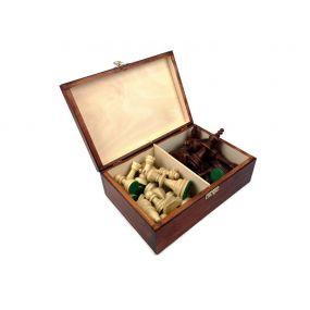Kasetka drewniana na figury szachowe  (A-0002/S)