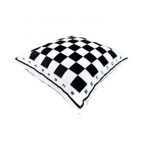 Poduszka z motywem szachownicy (A-130)