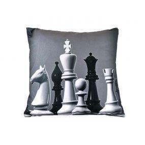 Poduszka z motywem figur szachowych (A-131)