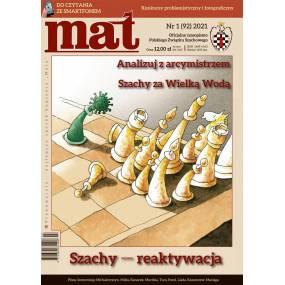 "Czasopismo szachowe ""Mat"" nr 1 / 2021 (92) (C-022)"