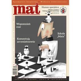 """Czasopismo szachowe """"Mat"""" - Wydanie specjalne - kwiecień / 2020 (C-2020/spec)"""