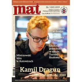 "Czasopismo szachowe ""Mat"" nr 3/ 2019 (83) (C-014)"