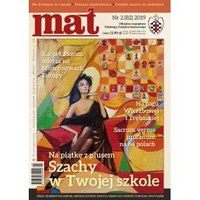 "Czasopismo szachowe ""Mat"" nr 2/ 2019 (82) (C-013)"