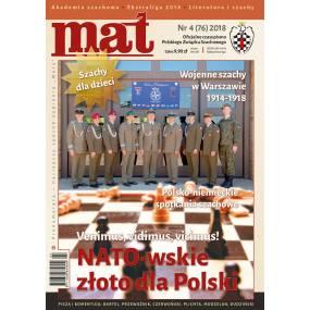"Czasopismo szachowe ""Mat"" nr 4/ 2018 (76) (C-008)"