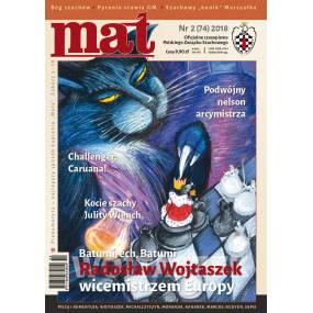 "Czasopismo szachowe ""Mat"" nr 2/ 2018 (74) (C-006)"