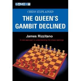 """James Rizzitano """"Queen's gambit declined""""-(K-946)"""