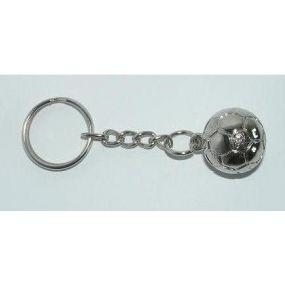 Brelok metalowy piłka (srebrny) (A-2/pł)