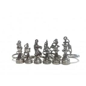 Brelok metalowy (srebrny) (A-2/b)