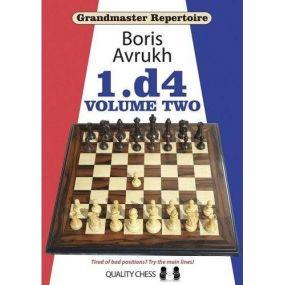 """Borys Avrukh """" Grandmaster Repertoire 2 - 1.d4 volume 2 """" ( K-2592/2/2 )"""