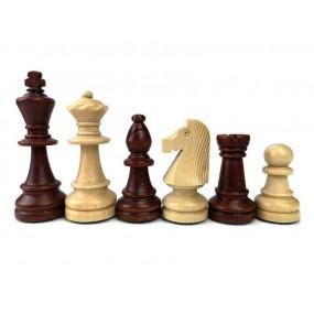 Figury szachowe Staunton nr 6 / II w worku ( S-3/II )
