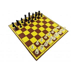 Figury szachowe Staunton nr 6 w worku plastikowe  (S-50)