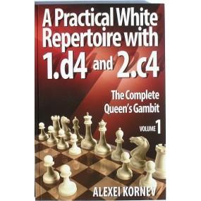 """A.Korniew """"Praktyczny repertuar dla białych z 1.d4 i 2.c4  """" ( K-3598/a )"""