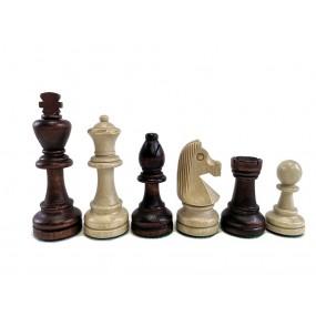 Figury szachowe Staunton nr 7 w worku (S-4)