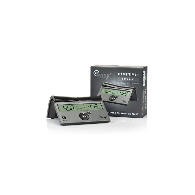 DGT Easy Plus(opcja dodawania czasu) - Elektroniczny zegar szachowy - Nowy model  (ZS-13)