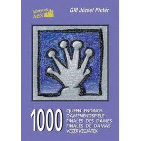 "GM Jozsef Pinter "" 1000 końcówek hetmańskich"" ( K-354 )"