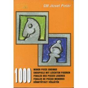"""GM Jozsef Pinter """" 1000 końcówek lekkofigurowych""""  ( K-352 )"""