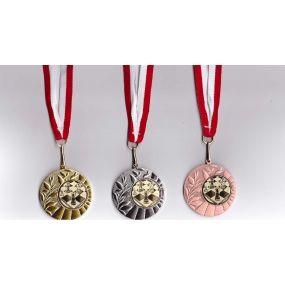 Komplet medali szachowych (A-13/kpl)