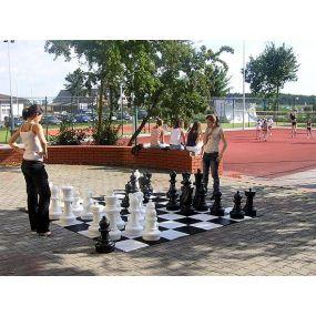 Szachownica do szachów ogrodowych (plenerowych, parkowych) ( S-43/SZ)