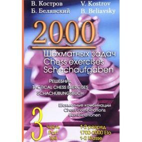 2000 zadań szachowych dla 1-2 kategorii cz. 3 (K-109)