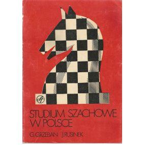 """G.Grzeban i J.Rusinek """" Studium szachowe w Polsce"""" (K-1171)"""