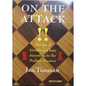 """Timman Jan """" On the Attack""""  ( K-745 )"""