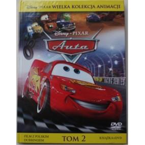 """""""Auta"""" Ksiażka + DVD ( KI-2 )"""