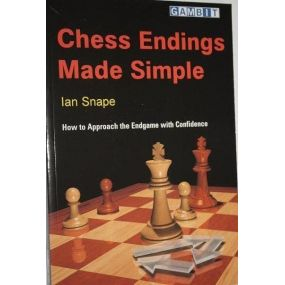 """I.Snape  """" Chess endings made simple"""" (K-762/ms)"""