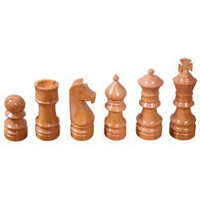 Puchary drewniane - Komplet białe figury (A-8/kplb)