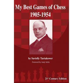 "G. Savielly Tartakower  ""My Best Games of Chess 1905-1954"" ( K-3671)"