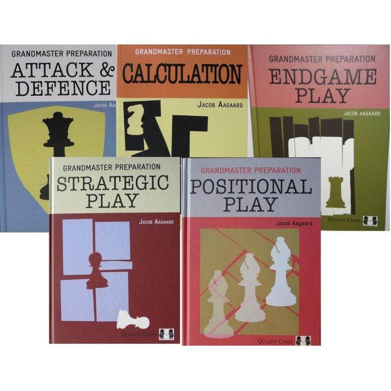 Aagaard Jacob. Arcymistrzowskie przygotowania. Zestaw 5 książek ( K-3538/kpl )